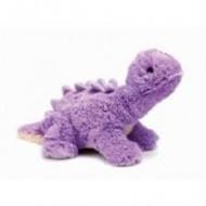 Bouillotte peluche Dinosaure violet Stégosaure