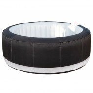 Spa Ospazia noir 4 places - Luxe AS02