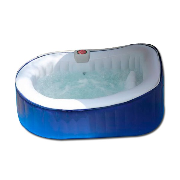 Spa ospazia bleu 2 places ovale as03 spa jacuzzi - Jacuzzi gonflable 2 personnes ...