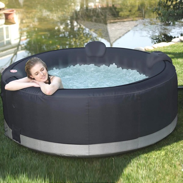 spa ospazia noir 6 places luxe af02 spa jacuzzi. Black Bedroom Furniture Sets. Home Design Ideas
