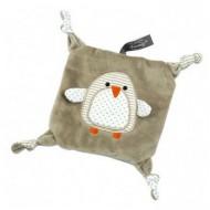Bouillotte peluche doudou Pingouin déhoussable
