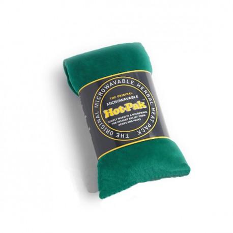 Bandeau chauffant velours vert