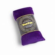 Bandeau chauffant velours violet