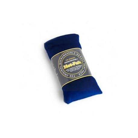 Bandeau chauffant velours bleu nuit