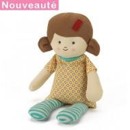 Bouillotte peluche poupée Julie
