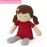 Bouillotte peluche poupée Charlotte