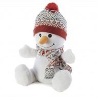 Bouillotte peluche Bonhomme de neige