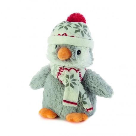 Bouillotte peluche Pingouin de neige