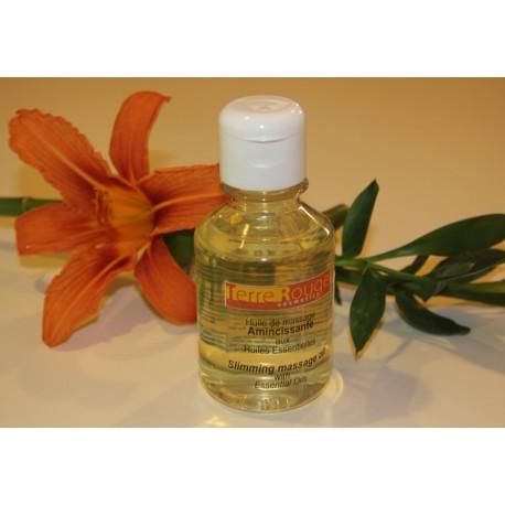 Huile de massage amincissante aux huiles essentielles