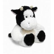 Bouillotte peluche chauffante Vache