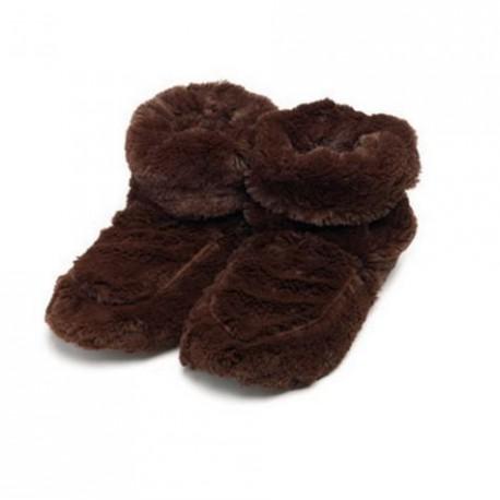 Boots chauffantes chocolat
