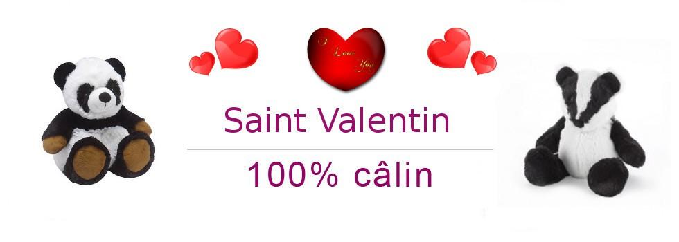Saint-Valentin 100% câlin !