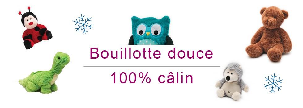 Bouillotte douce 100% câlin